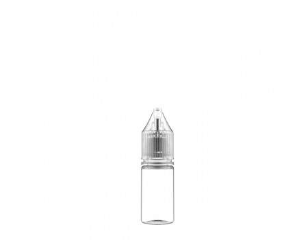 10ML - V3 TRANSPARENTE - FRASCO UNICORN
