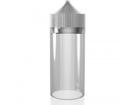 120ML - V2 TRANSPARENTE - FRASCO UNICORN