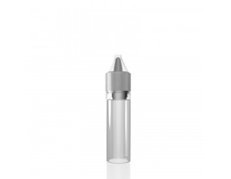15ML - V2 TRANSPARENTE - FRASCO UNICORN
